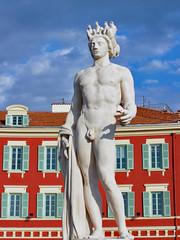 Apollo statue in Nice - France