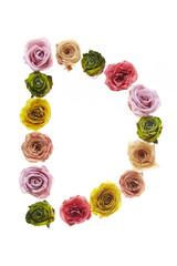 Rose font D