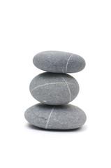 Stacked of zen stones