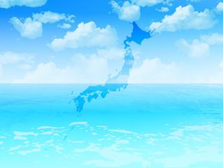 日本 海 風景