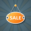 Sale hanging sign
