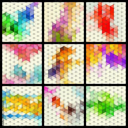 Mosaic Pattern Set © Max Krasnov