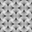Design seamless twirl movement striped geometric pattern. Abstra