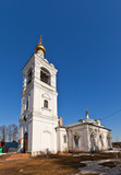 Church of Archangel Michael (1805). Zagornovo, Russia