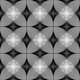 Design seamless monochrome diamond geometric pattern. Abstract d