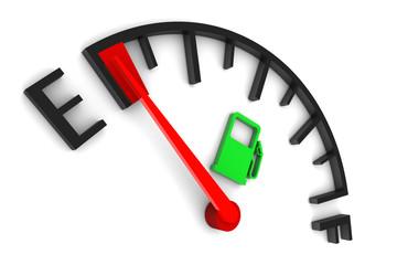 Fuel Gauge Empty