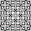 Design seamless monochrome decorative flower pattern. Abstract t