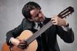 guitarist businessman