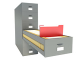 Bookshelf for documents