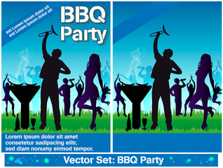 Flyer Grillparty