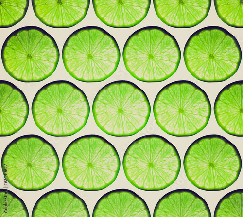 Retro look Lime background