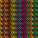 beautiful zig zag patterned background