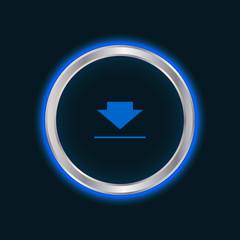 website download button, vector EPS10