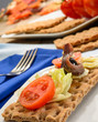 Antipasto, close-up, fuoco selettivo
