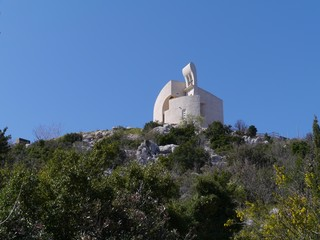 The church of our lady of Carmel above Vodice