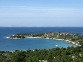 The Kosirina bay of the island Murter in Croatia