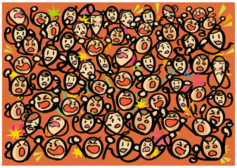 Large audience