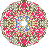 Garnished pattern, colorful vector design