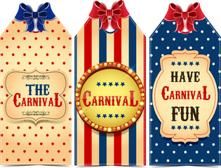 Carnival tags