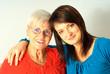Oma mit Enkelin