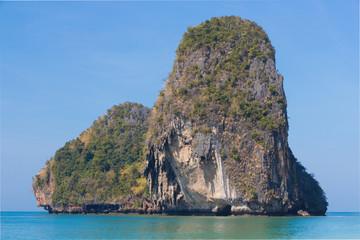 Phra Nang Rock in Krabi Thailand