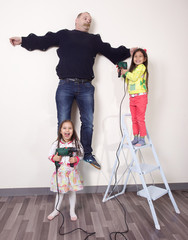 conflit parents enfants roi dans la famille