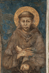 Franziskusdarstellung von Cimabue in San Francesco in Assisi