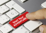 Start your adventure. Keyboard