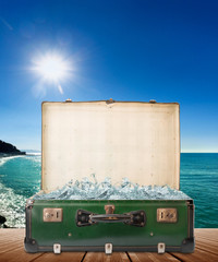 valigia vacanze mare