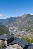 Aerial view of Andorra-La-Vella