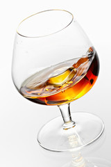 The Friday evening's cognac