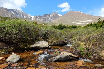 Rocky Mountains, Colorado - Longs Peak hiking trail