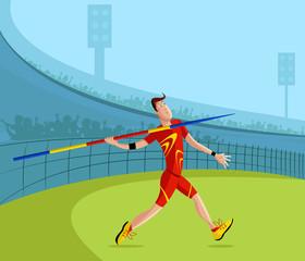 Javelin Player