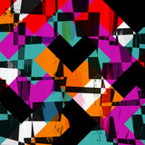 abstract geometric illustration, vector eps 10