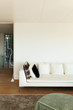 living room  white divan
