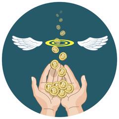 ビットコイン コンセプト Bitcoins concept