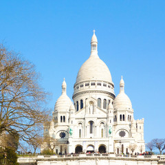 Sacre-Coeur church in Montmartre