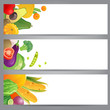 vegetable banners