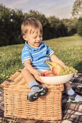picnic boy