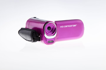 Video HD Camcorder - Stock Image