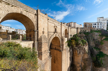 Puente Nuevo Bridge in Ronda Spain