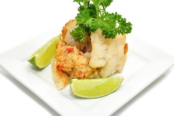 Gourmet Stuffed Cod with Lime