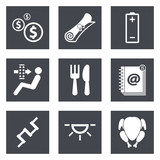 Icons for Web Design set 16