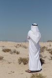 Arab man in the desert