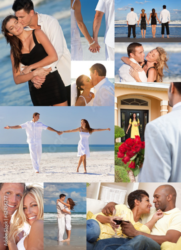 Romantic Interracial Couples Love Romance Montage