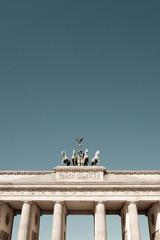 Brandenburg-famous landmark in Berlin