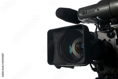 Professional digital video camera - 62456687