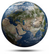 Earth globe - Eurasia