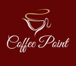 Vector Coffee Point  Icon