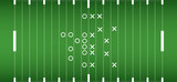 american football field background. vector soccer field